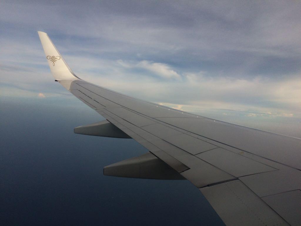 Traveling Naik Pesawat Pertama Kali