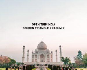 Open Trip India: Golden Triangle + Kashmir