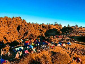 Camping Di Gunung Prau